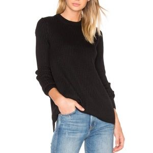 Rag & Bones Carly Pullover Sweater w Split Back